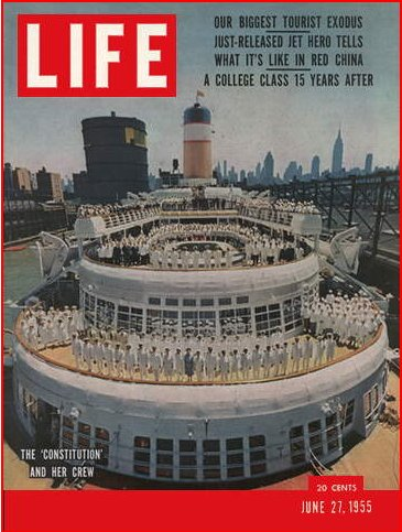 Lake Washington High School Featured in LIfe 1955